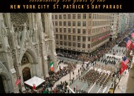 Celebrating 250 Years of the New York Cty St. Patrick's Day Parade